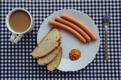 parówki na śniadanie
